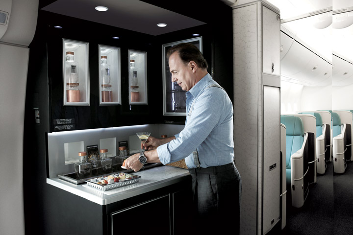 zip-world-compagnie-aerienne-korean-air-bar-1st-class